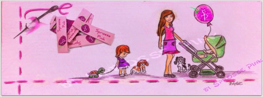Sprosse Pink