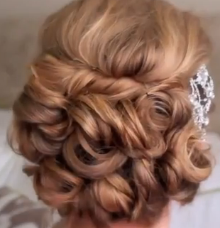 Hairstyle for Long Hair For Weddings