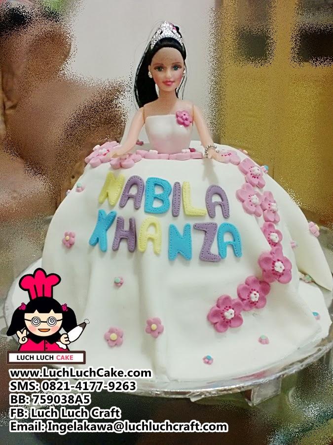 Kue Barbie Cantik Daerah Surabaya Sidoarjo