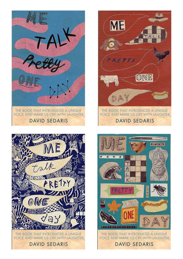 Pretty Book Cover Names : Thisisnickwhite too david sedaris me talk pretty one