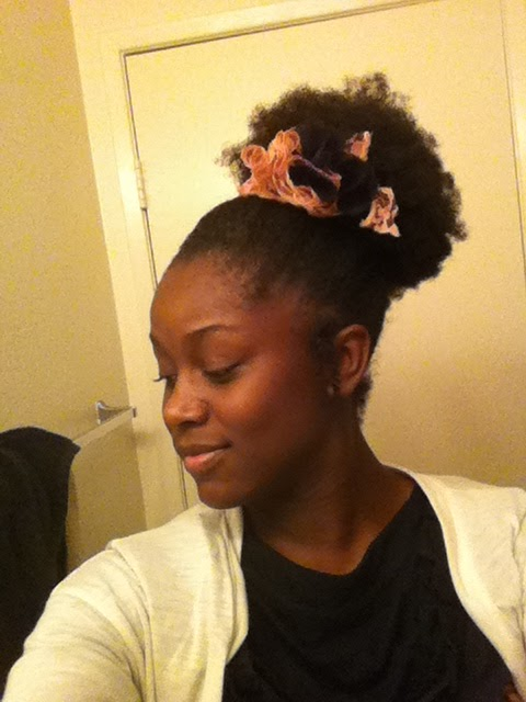 Natural Afro Puff Styles Style Points Afro Puff