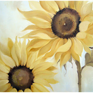 Sunflower Framed Wall Art Sticker