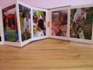 fold out photo book