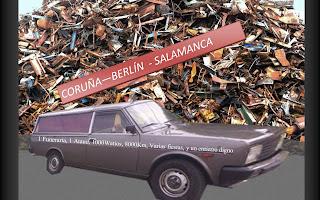 Imagen parcial del cartel anunciador del enterramiento