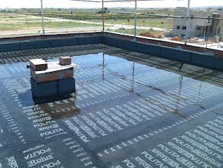 comprobación terraza con láminas bituminosas