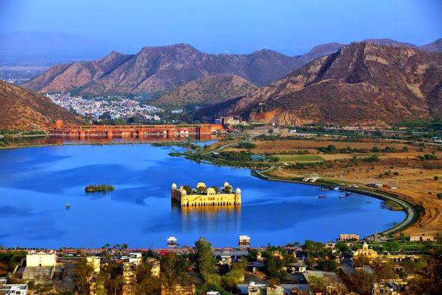 Jal Mahal - Istana Air Yang Unik Di Jaipur India ...