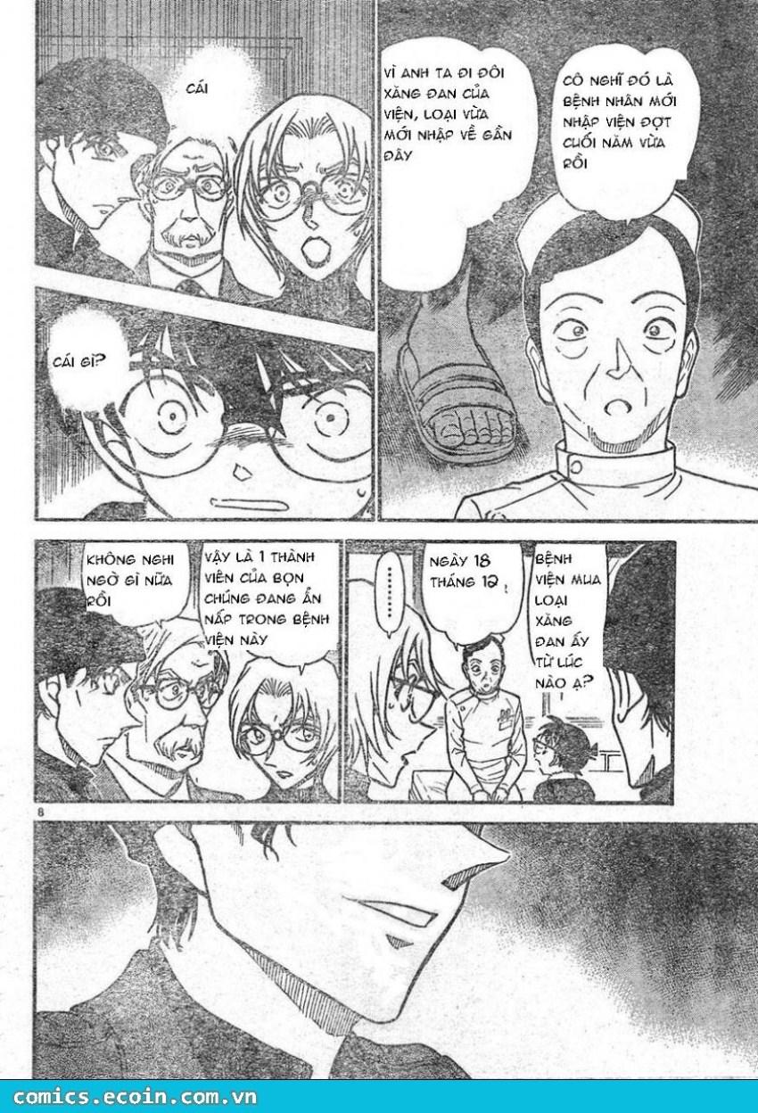 Detective Conan - Thám Tử Lừng Danh Conan chap 596 page 8 - IZTruyenTranh.com