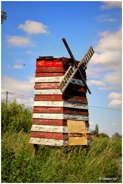 Marais audomarois - moulin