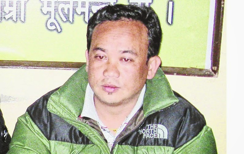 Sanjay Thulung, the expelled Gorkha Janmukti Morcha leader