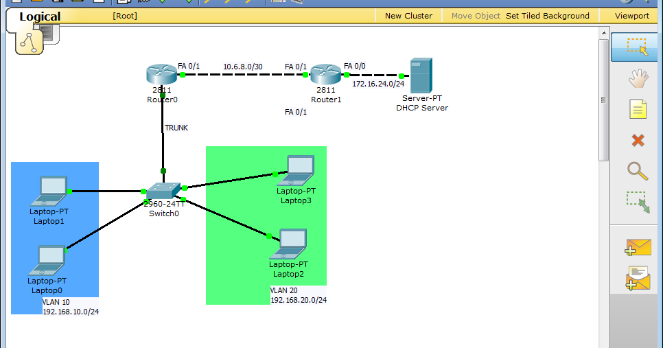 Computers and nothing else packet tracer setting up and for Show dhcp pool cisco switch