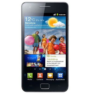 Samsung Galaxy S2 Android Smartphone Review, Feature and Specs