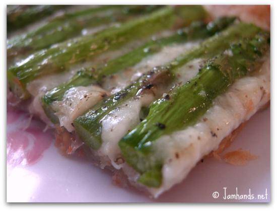 Jam Hands: Asparagus Gruyere Tart