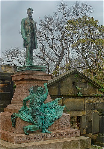 Memorial to Scottish-American Soldiers of the  American Civil War. (Photo by dun_deagh)