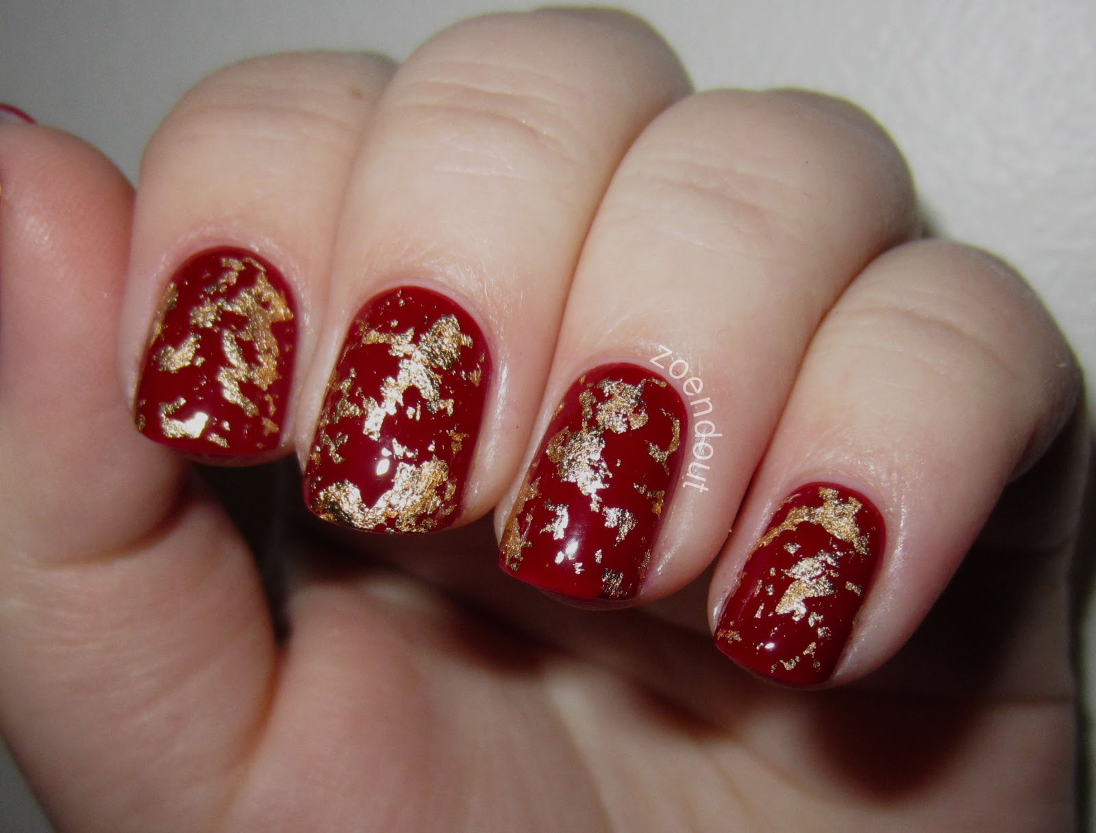 Zoendout Nails: My Christmas Nails!