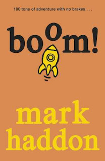 cover of boom! by Mark Haddon