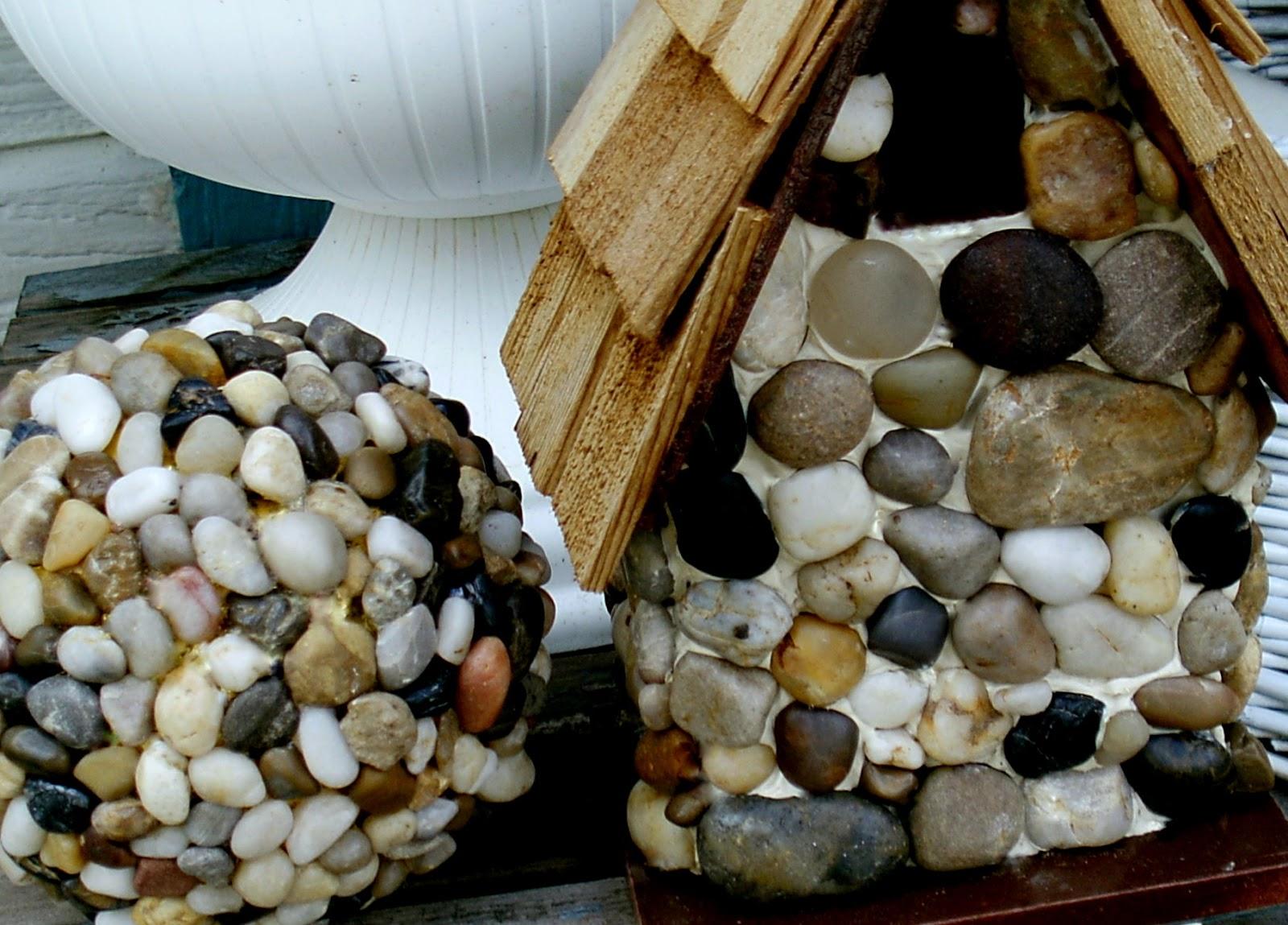Diy Birdhouse Make The Best Of Things Diy Pebble Garden Balls
