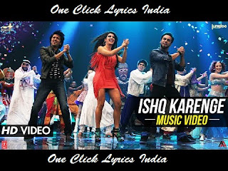 Ishq Karenge Song Lyrics