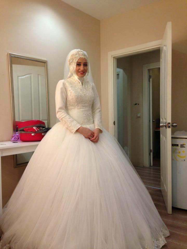 Une jolie Robe Hijab pour votre mariage