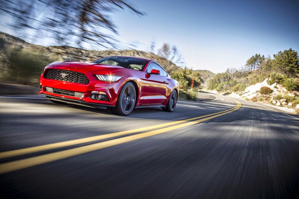 Countries Abroad Are Getting A Taste of American Muscle With The 2015 Mustang