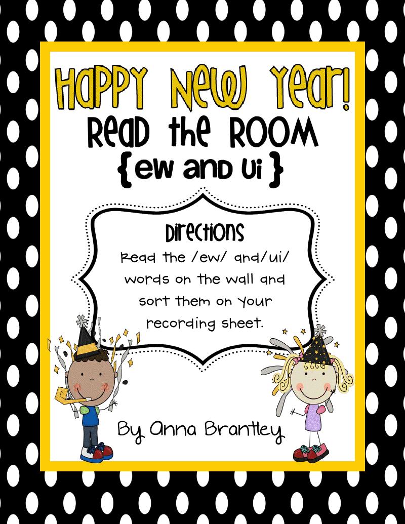 Classroom Freebies: Happy New Year Freebies!!