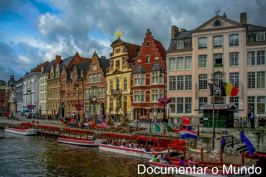 Gent; cidade universitária de Gent; Bélgica;