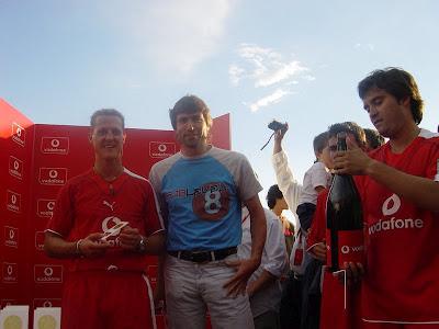 ¿Cuánto mide Michael Schumacher? - Altura - Real height Ju+063