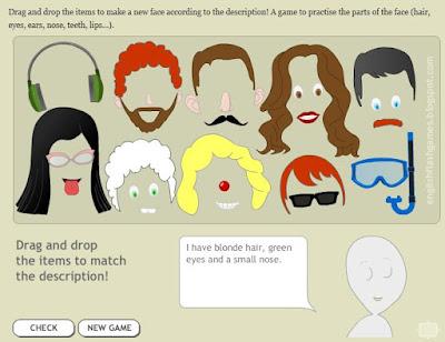 Face-maker-game