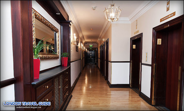 Hallways at the Millennium Bailey's Hotel London Kensington-1