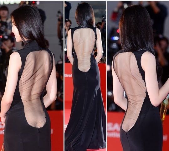 Actress Kang Hanna (강한나) who caused the biggest sensation with her bold, revealing outfits