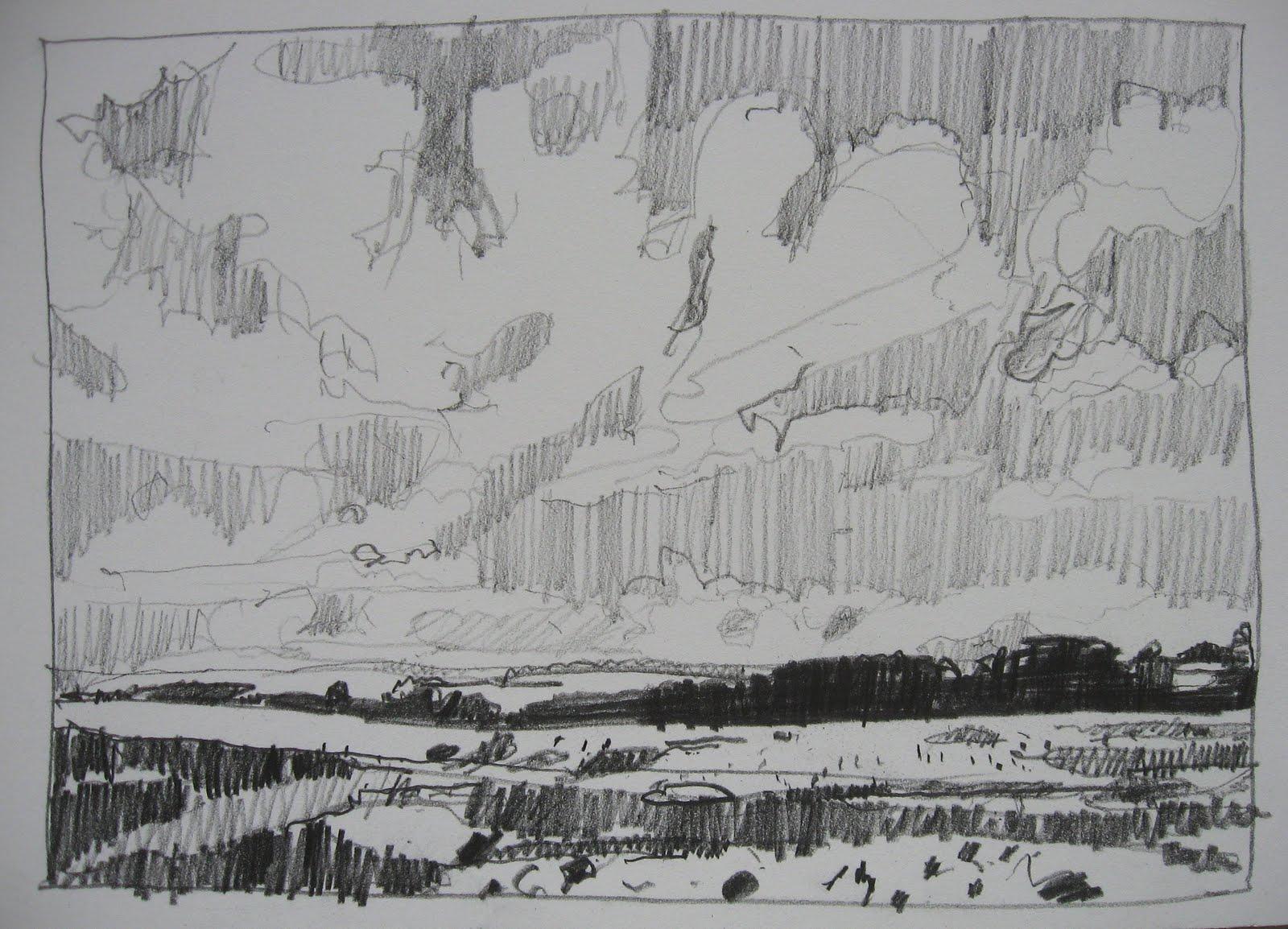 Landscape PaintingsHarry Stooshinoff Pencil Drawings