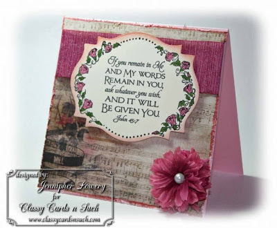 "ODBD ""Scripture Collection 4"", ""Flower Border"" Designer Jennipher Lowery aka stamptician"