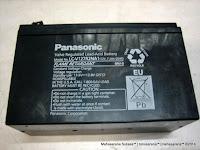 Valve Regulated Lead-Acid Battery Panasonic LC-V127R2NA1 (12V, 7,2AH/20HR)