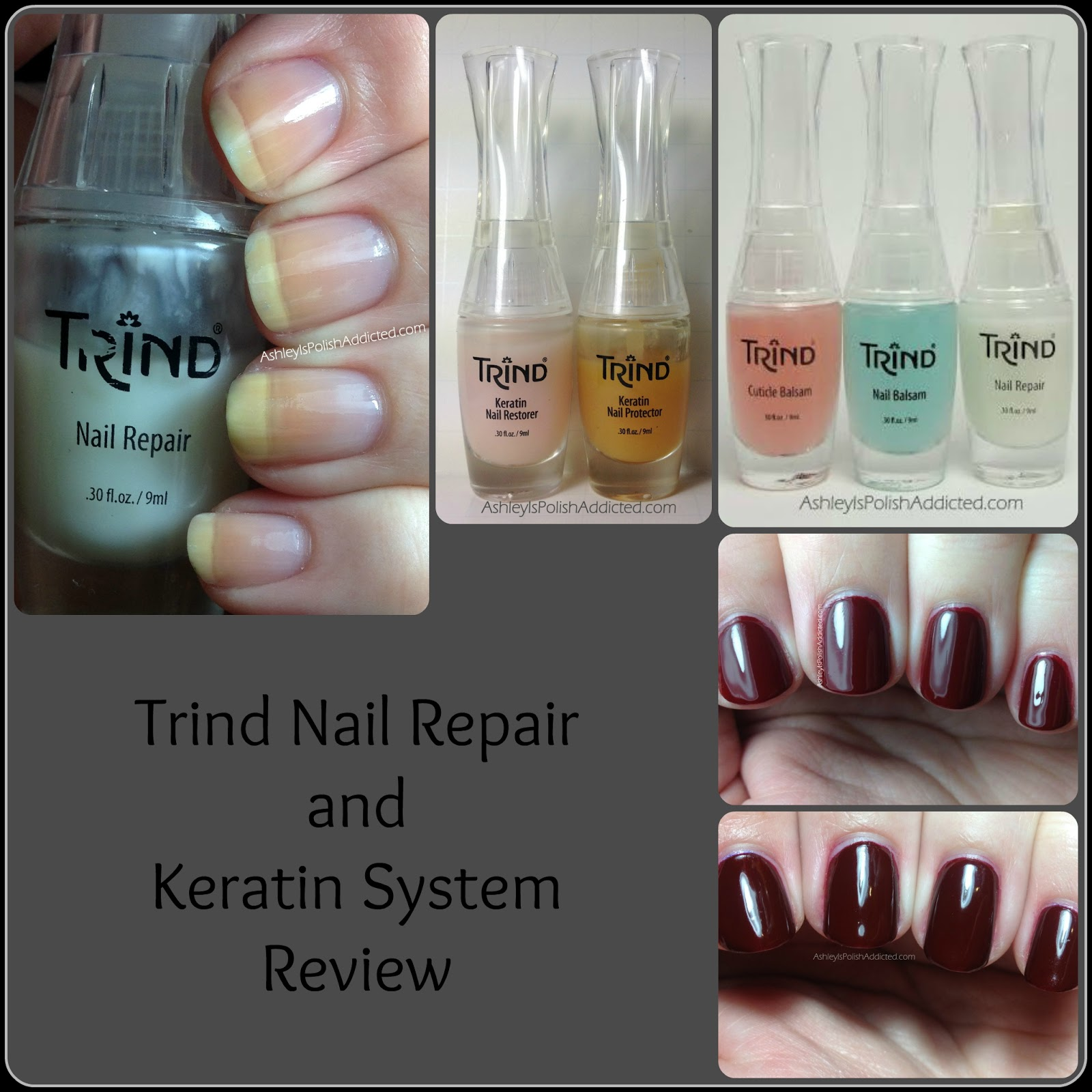 Trind Nail Care Keratin Treatment Kit Repair Cuticle Balsam And Complete Review