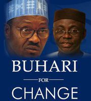 BUHARI FOR CHANGE, YOU'RE RIGHT.