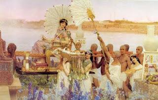 Μωυσής και Ακενατόν - The Finding of Moses, Sir Lawrence Alma-Tadema