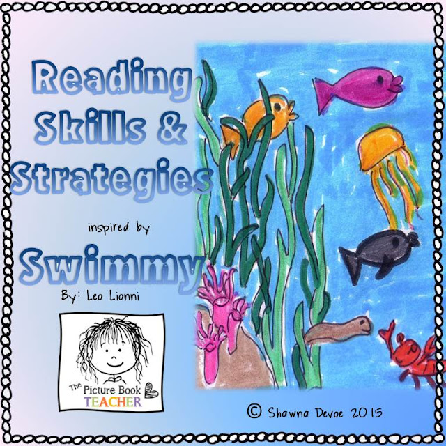 Reading Skills and Strategies inspired by Swimmy by Leo Lionni created by The Picture Book Teacher