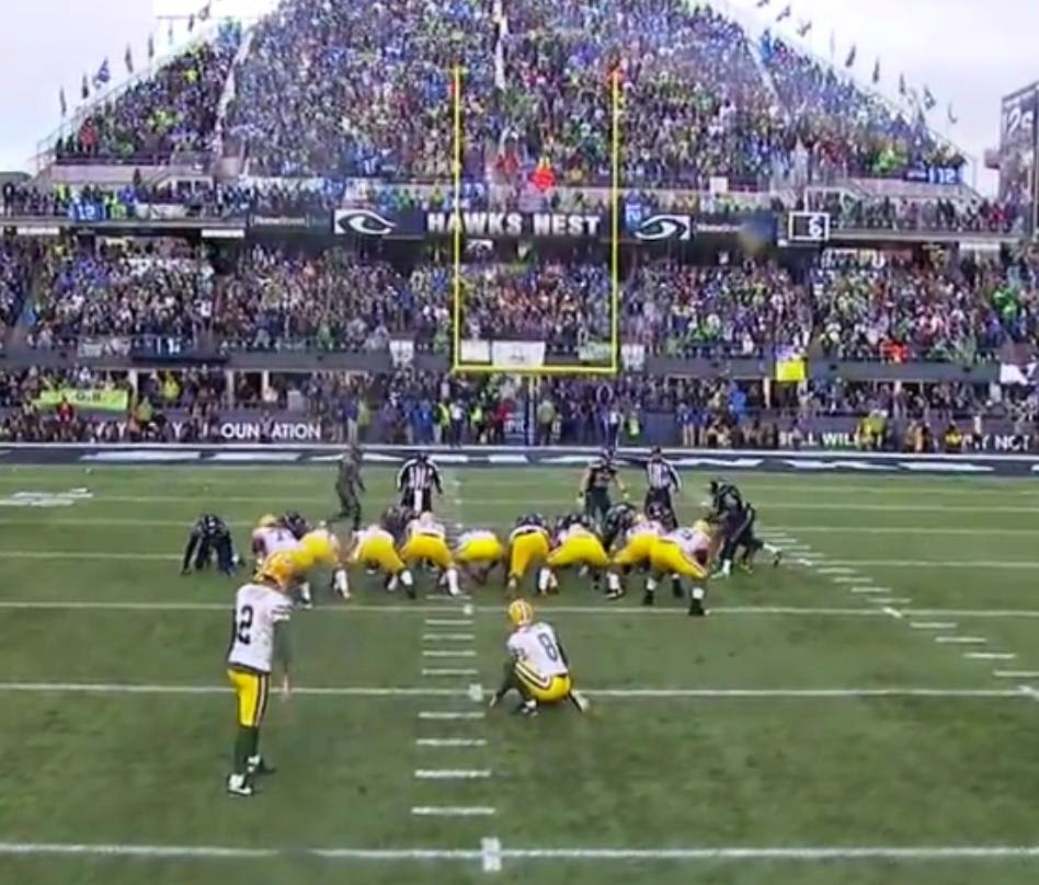 Field Goal Green Bay Packers Seattle Seahawks