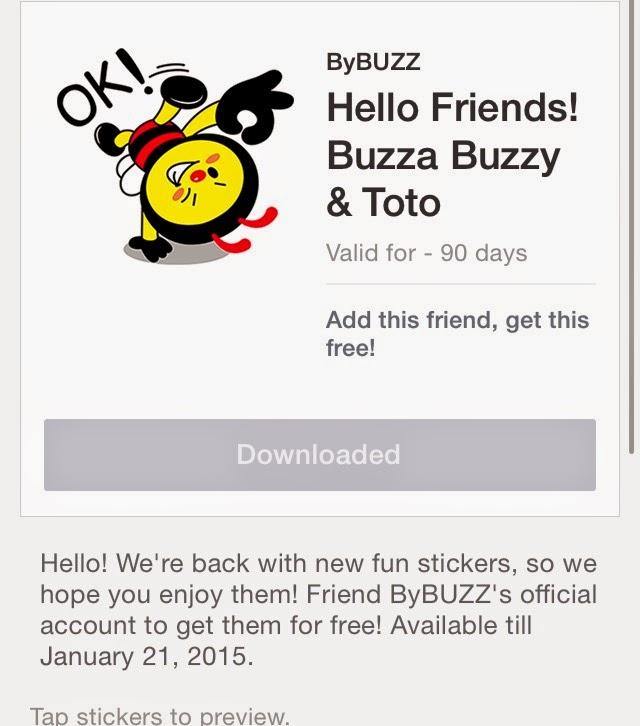 Hello Friends! Buzza Buzzy & Toto