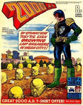 2000AD #18, Judge Dredd.