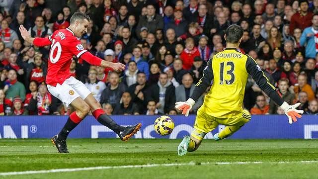 مانشستر يونايتد يتعادل مع تشيلسي في الوقت القاتل