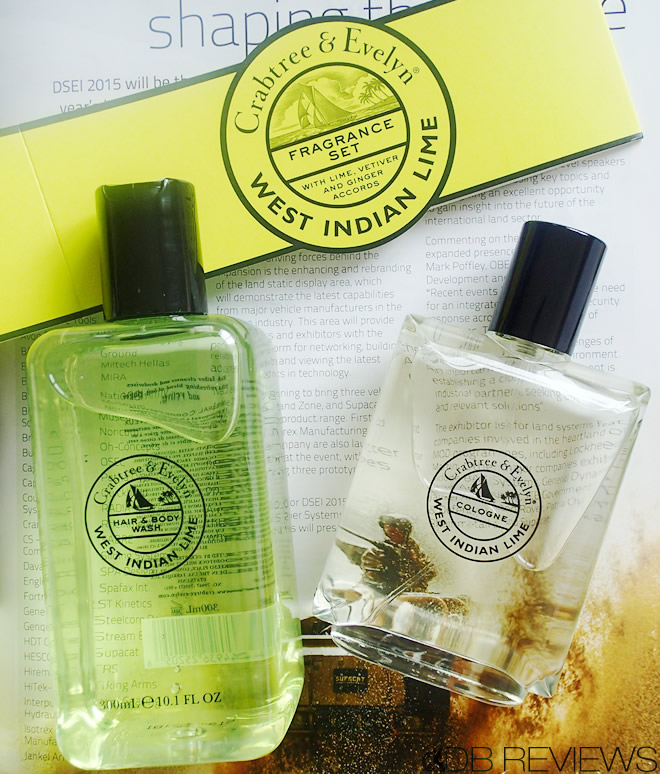 Crabtree and Evelyns West Indian Lime collection