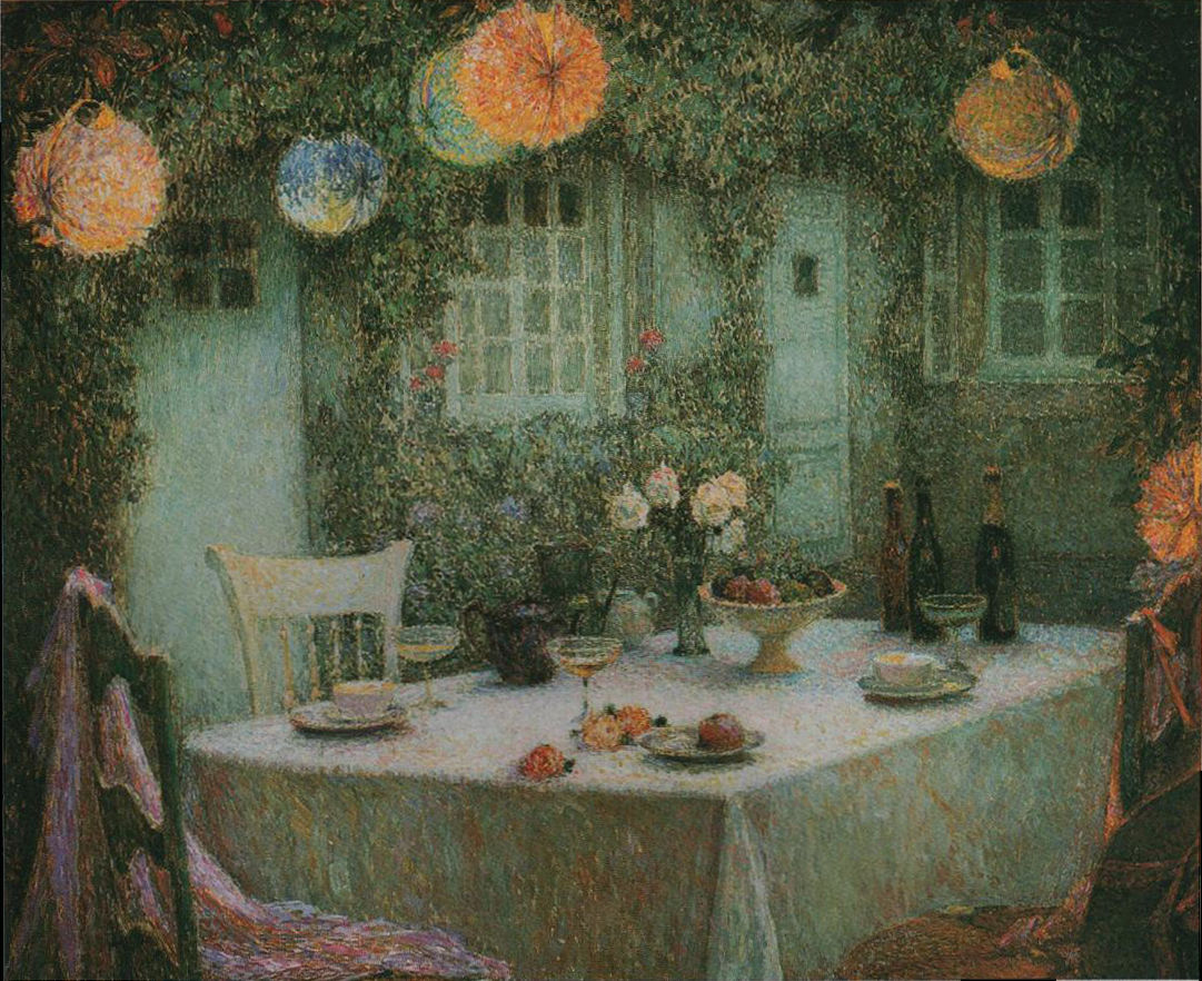Creatively graceful henri le sidaner 39 s tables for Table jardin