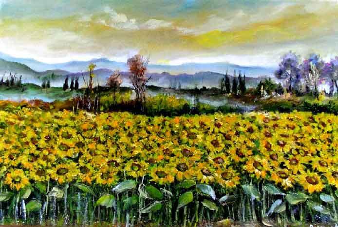 Matrimonio Girasoli Van Gogh : Le parole di crima il girasole