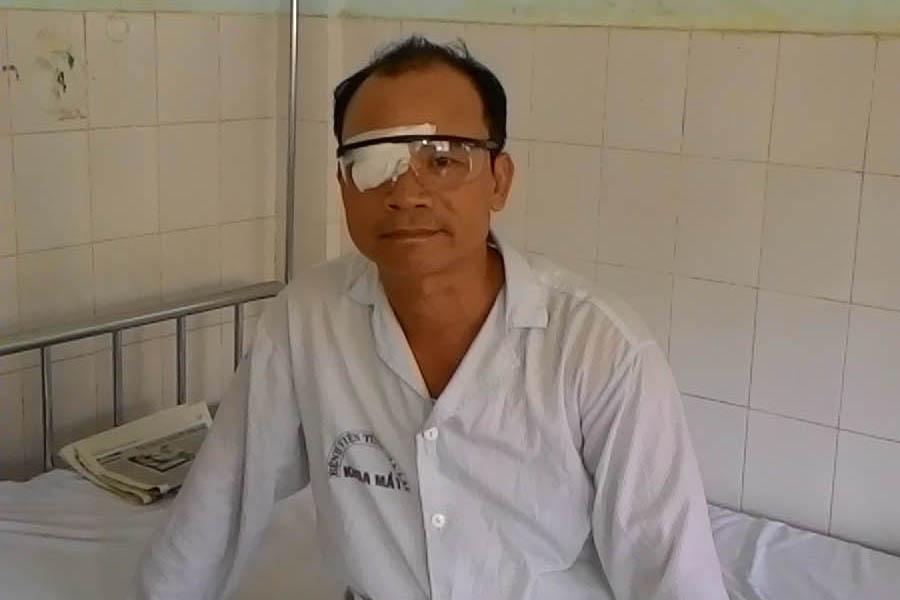 Gia Lai: Phải nhập viện vì tranh chấp đất đai