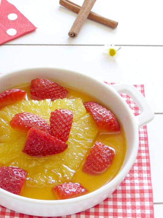 ananás caramelizado