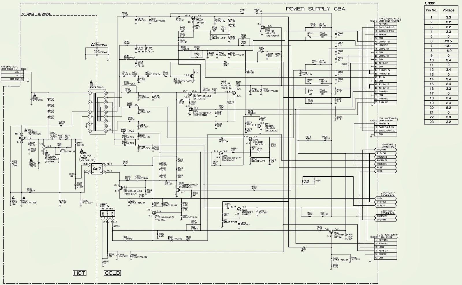direct tv schematic diagram