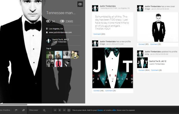 myspace Justin Timberlake