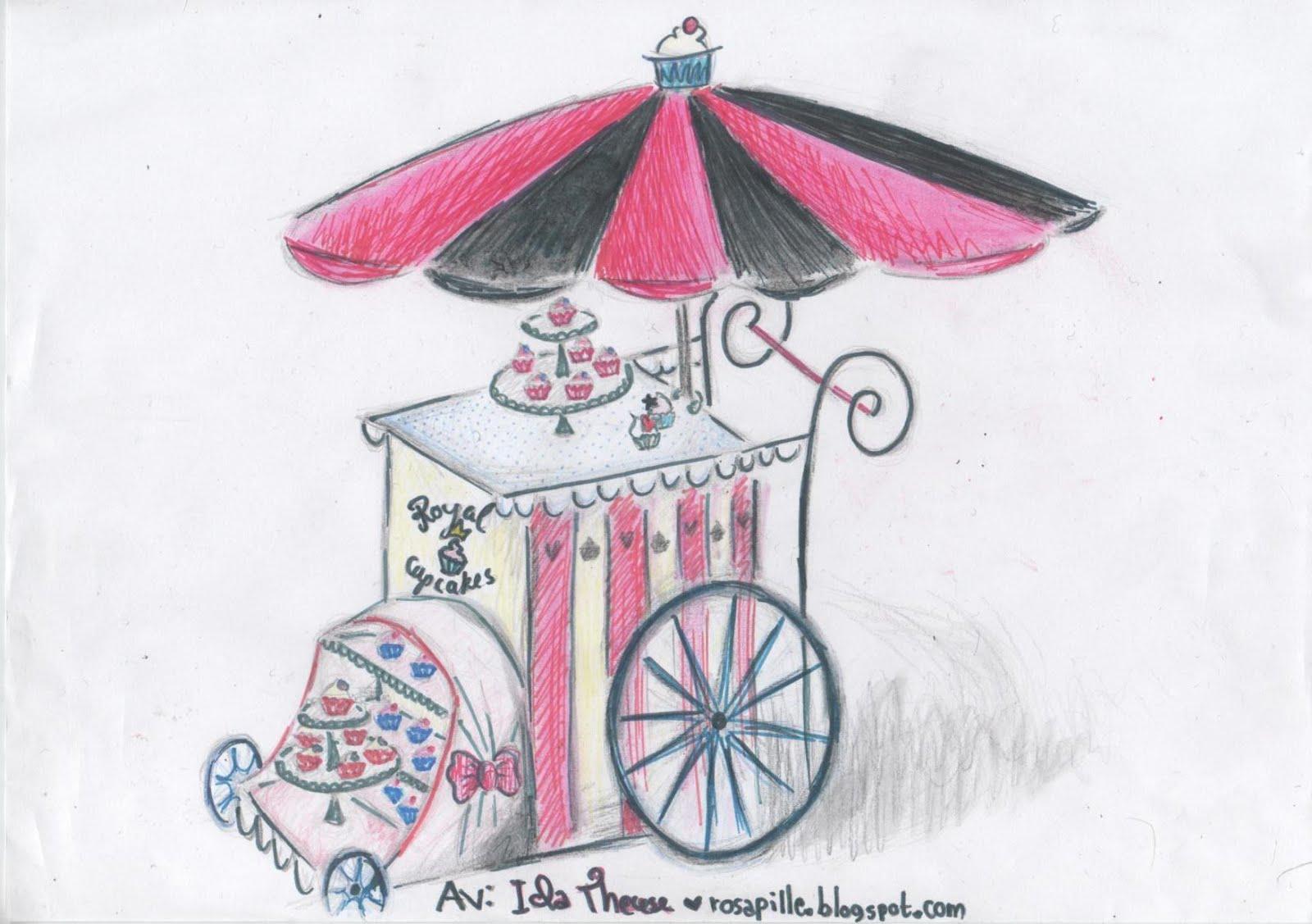 La oss starte en omreisende muffinsvogn!