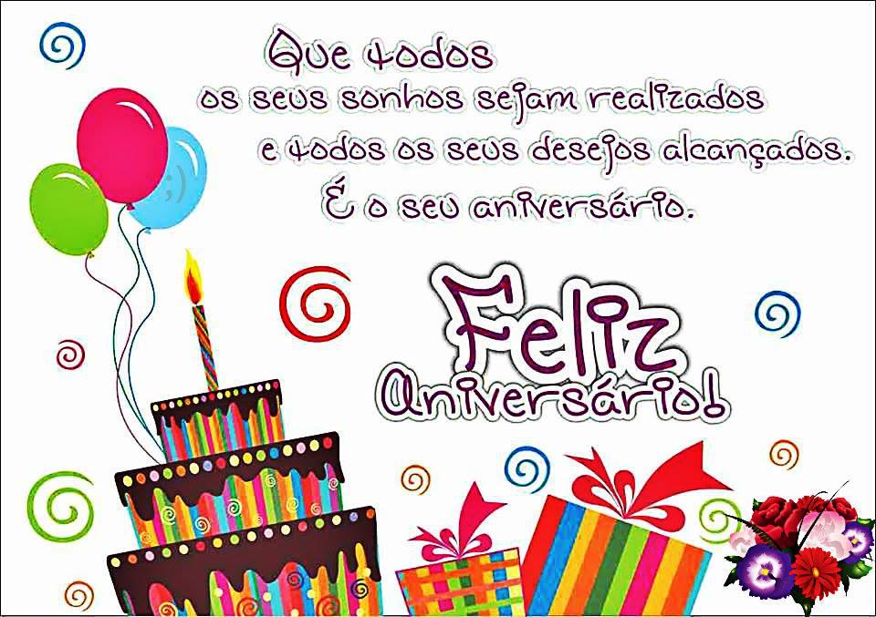 É o seu aniversário!
