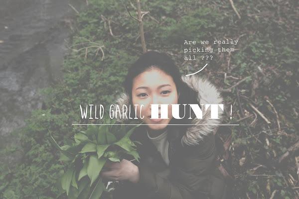 vlog (cringe): wild garlic foraging, and wild garlic fried beehoon!